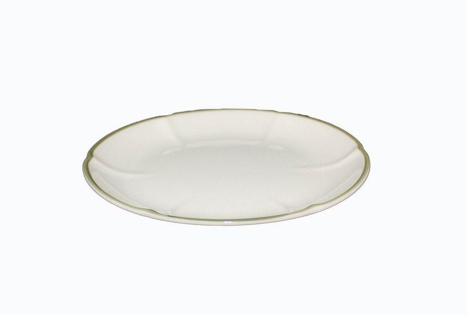 Zeller Keramik Suppenuntertasse »Schäfchen« in Weiß