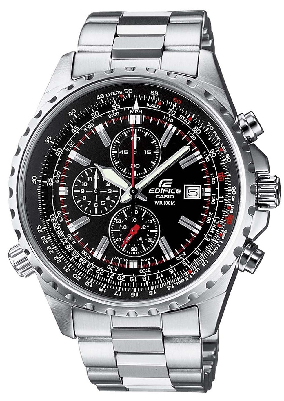 Edifice Chronograph »EF-527D-1AVEF«, NEO-Display