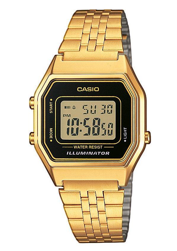 Casio Collection Chronograph »LA680WEGA-1ER« in goldfarben
