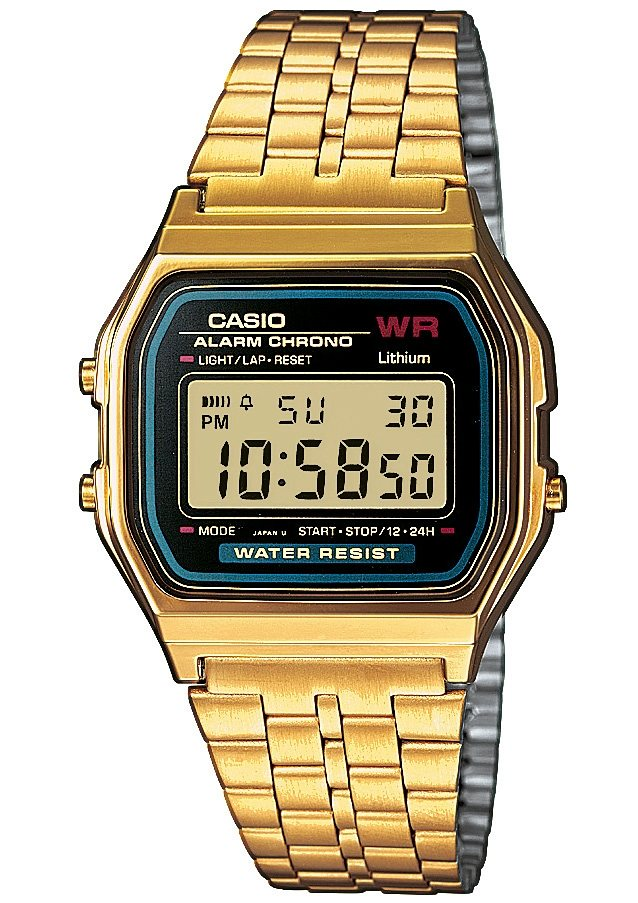 Casio Collection Chronograph »A159WGEA-1EF« in goldfarben