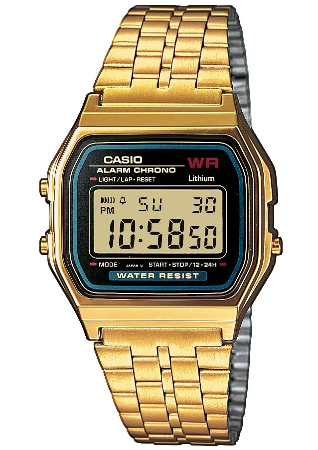 Casio Collection Chronograph »A159WGEA-1EF«