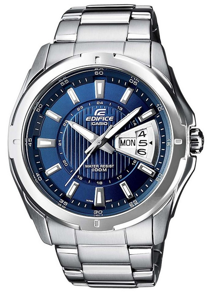 Casio Edifice Quarzuhr »EF-129D-2AVEF« in silberfarben