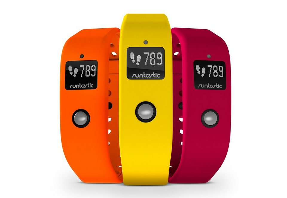Armband Set, »Colored Wristbands for runtastic Orbit«, runtastic, ohne Activity Tracker in gelb-orange-rot
