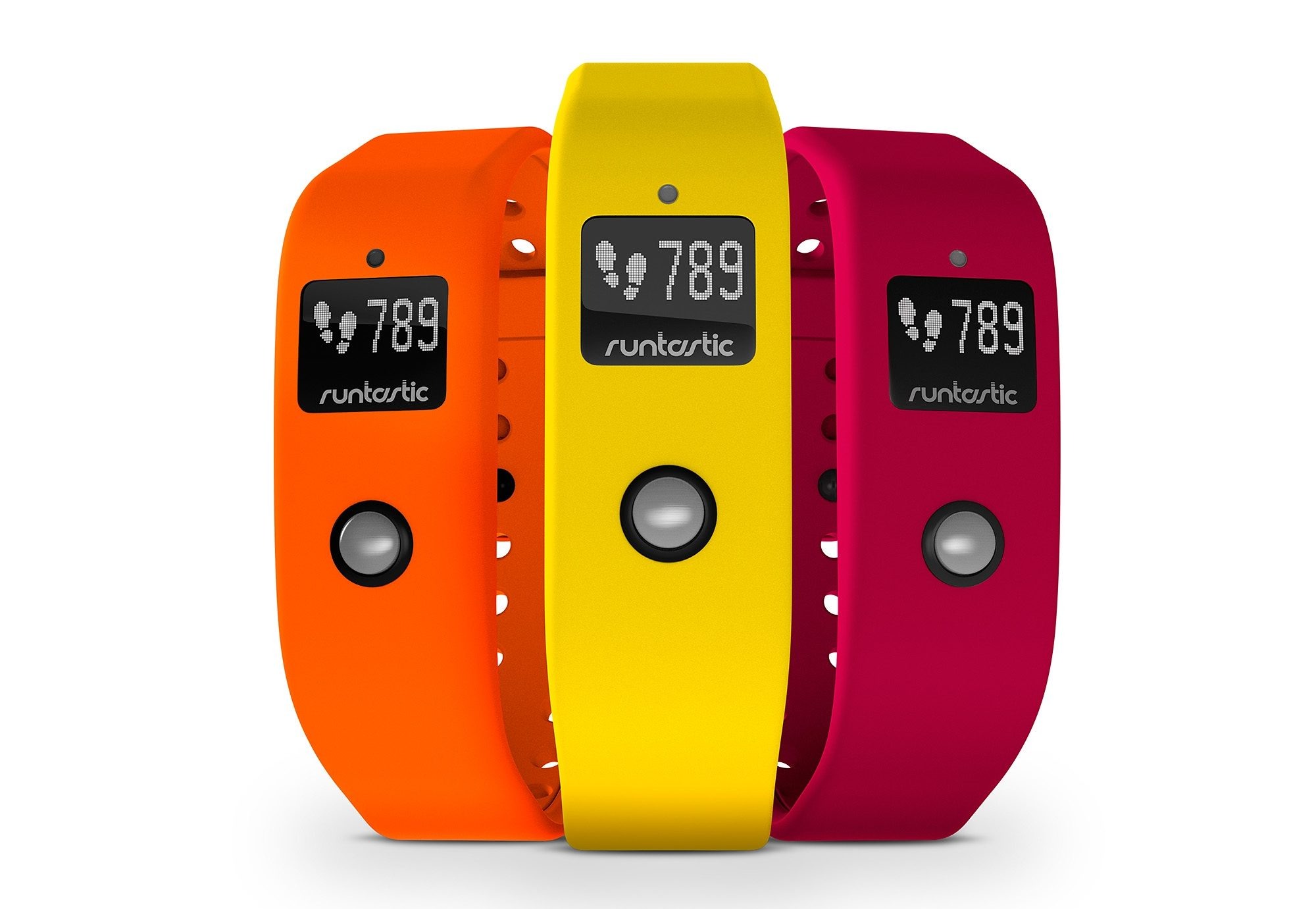 Armband Set, »Colored Wristbands for runtastic Orbit«, runtastic, ohne Activity Tracker