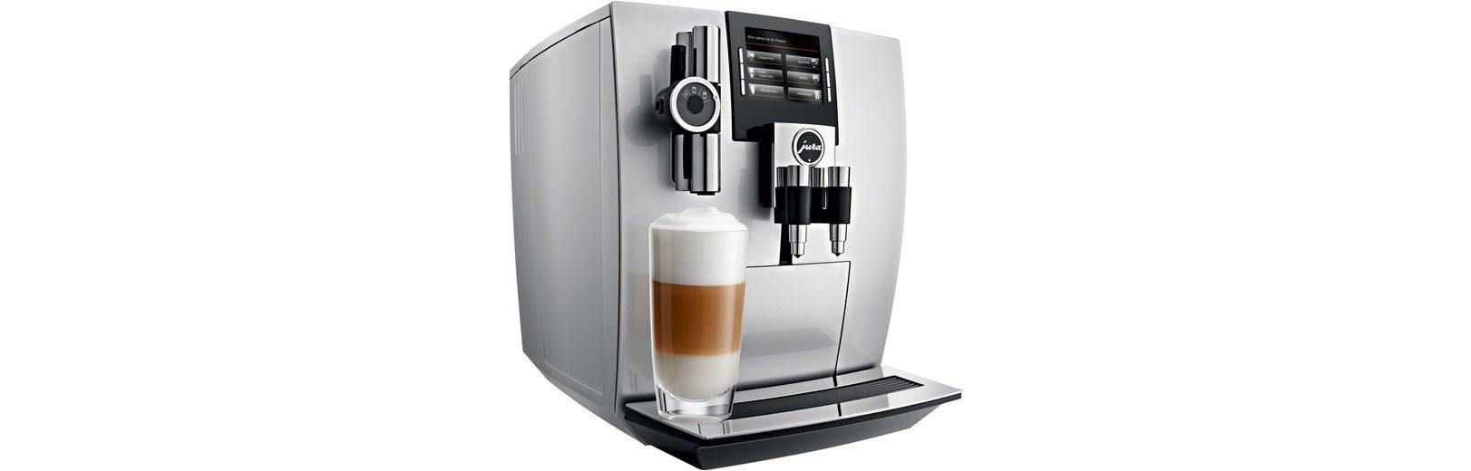 Jura Espresso-/Kaffee-Vollautomat 15038 J90, Brillantsilber
