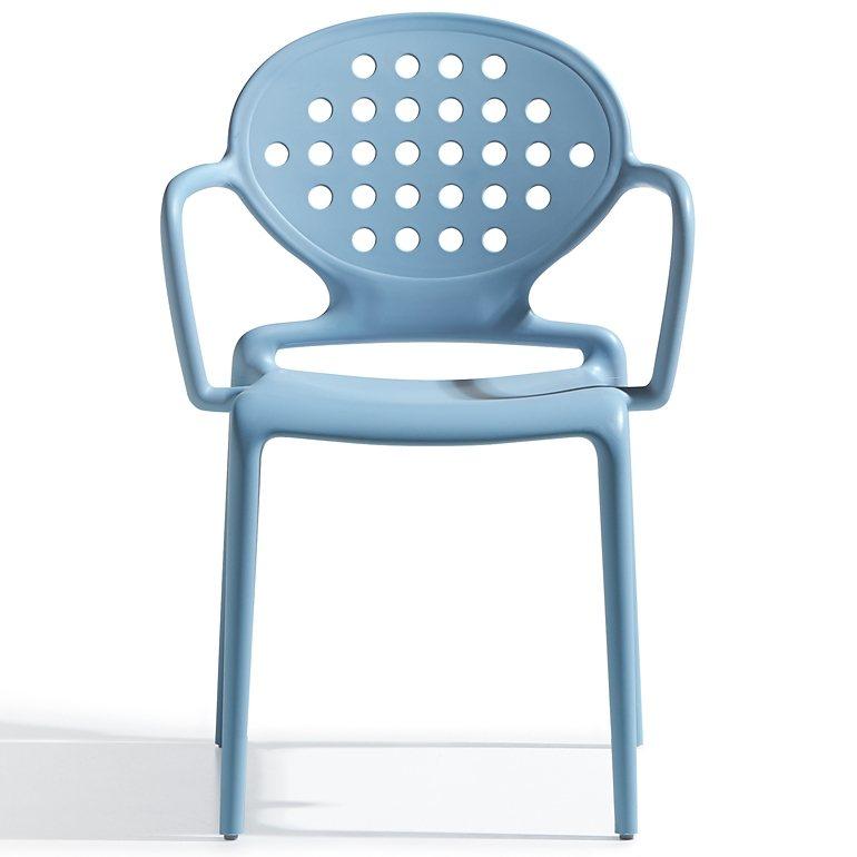 Salesfever designer stuhl stapelstuhl mit runder for Designer stapelstuhl