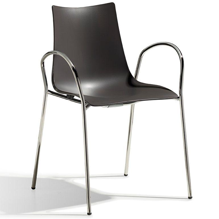 Moderne Stühle Design Kloe Marco Acerbis Hochglanz Oberfläche