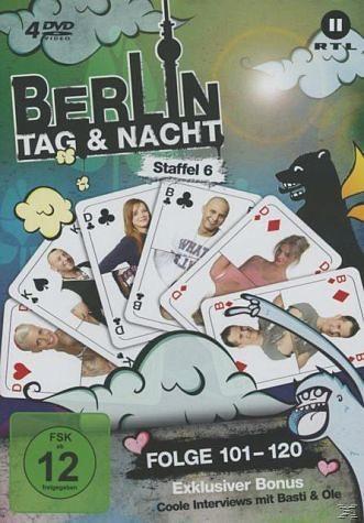 DVD »Berlin - Tag & Nacht - Staffel 6/Folge 101-120...«