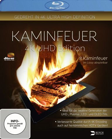Blu-ray »Kaminfeuer - UHD Edition«