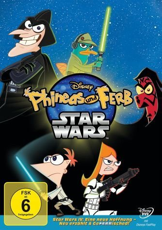 DVD »Phineas und Ferb - Star Wars«