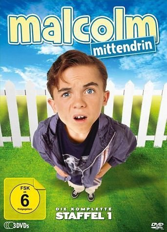 DVD »Malcolm mittendrin - Die komplette Staffel 1...«