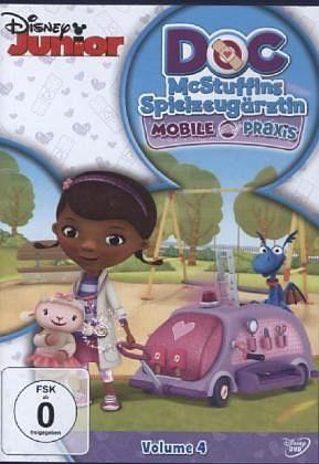 DVD »Doc McStuffins - Spielzeugärztin, Volume 4:...«