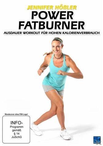 DVD »Jennifer Hößler - Power Fatburner - Ausdauer...«
