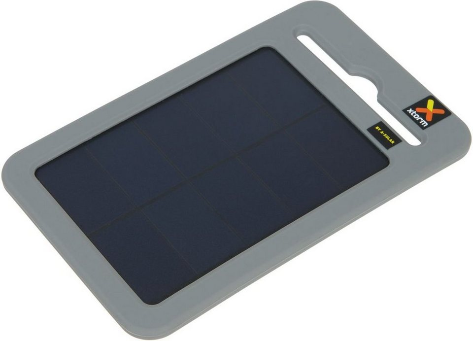 Xtorm Mobile Power »Solarladegerät mit Powerpack (2.000 mAh)« in Grau