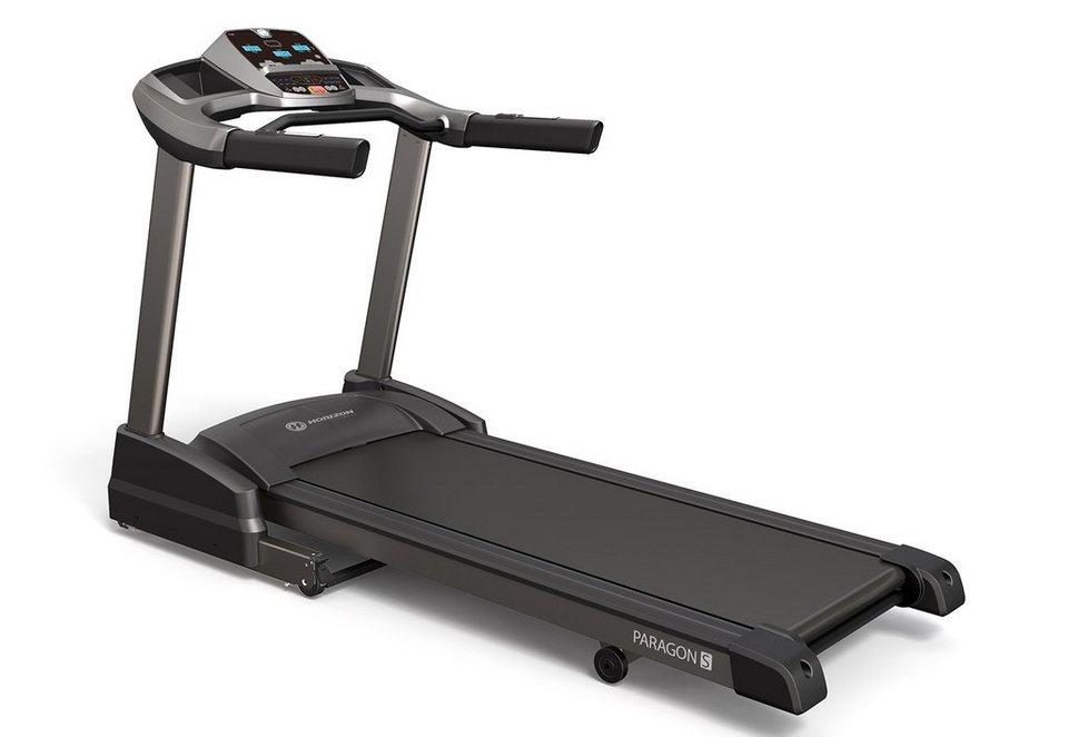 Laufband, »Paragon 7S«, Horizon Fitness in schwarz-anthrazit