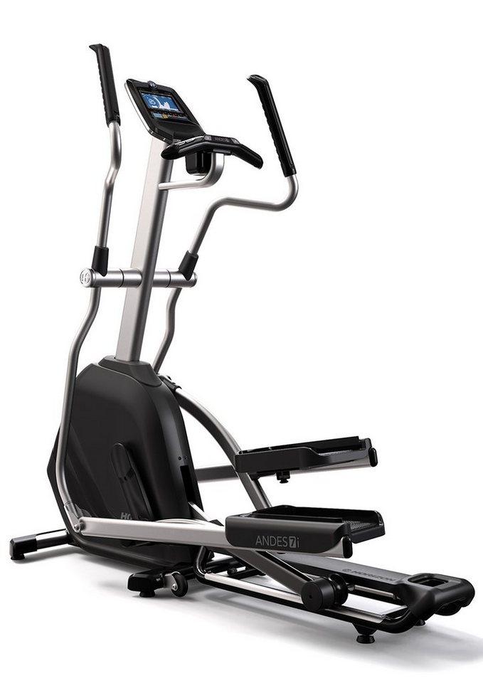 Elliptical Ergometer, »Andes 7i«, Horizon Fitness, SEHR GUT im ETM-Testmagazin Ausgabe: 11/2014 in schwarz