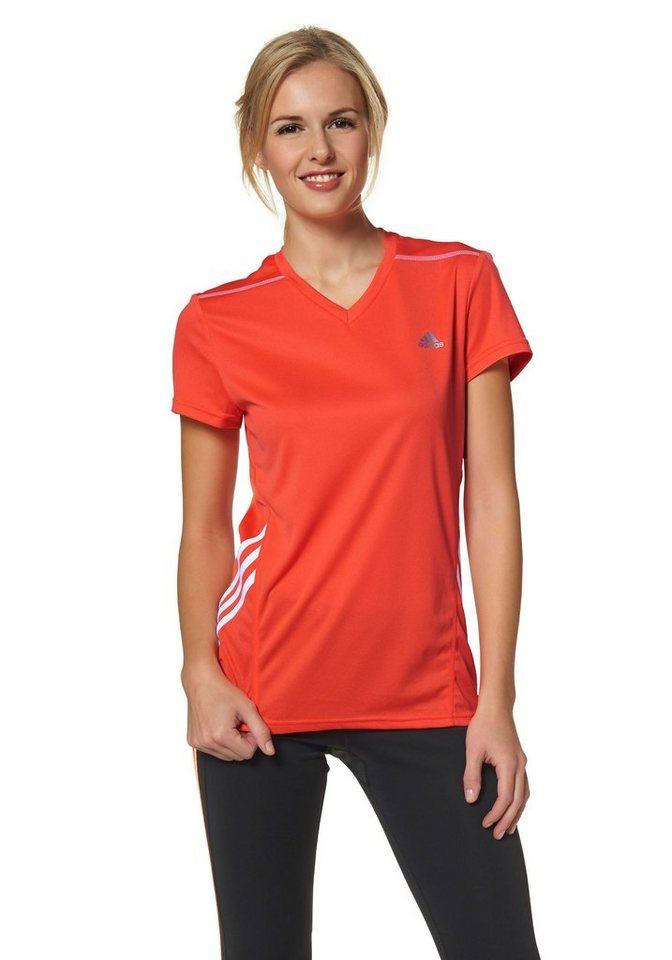 adidas Performance Laufshirt in Orange