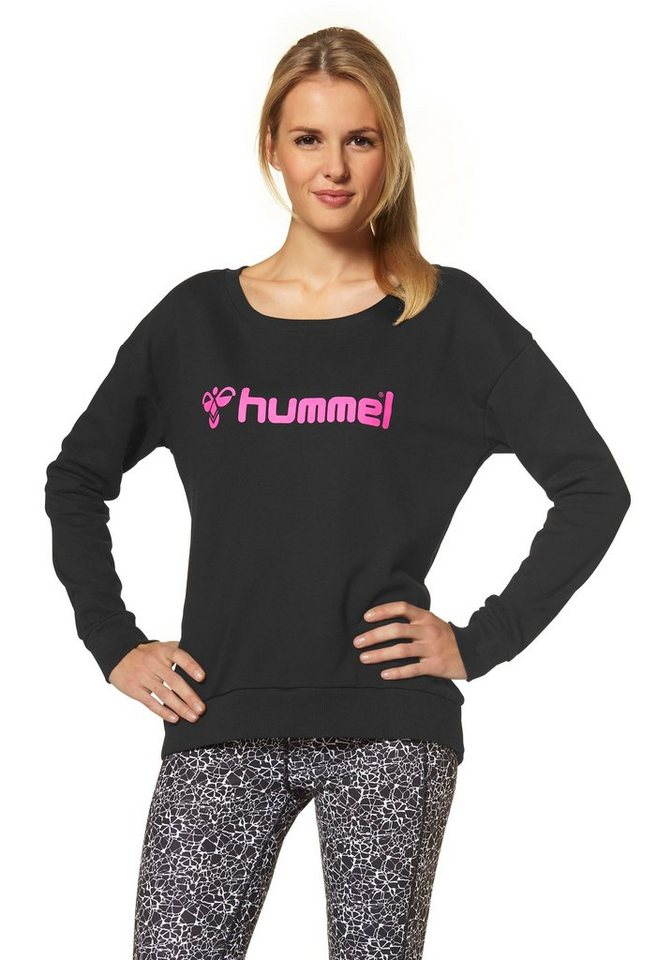 Hummel Classic Bee Womans Sweat Sweatshirt in Schwarz