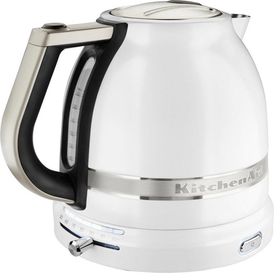 KitchenAid Wasserkocher 5KEK1522EFP, 1,5 l, 2400 W, frosted pearl ...