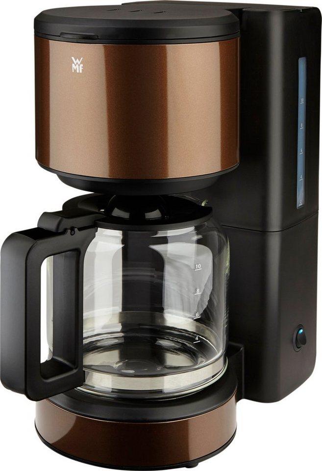 WMF Kaffeemaschine Terra, 34,2 cm Höhe, 19 cm Breite in braun