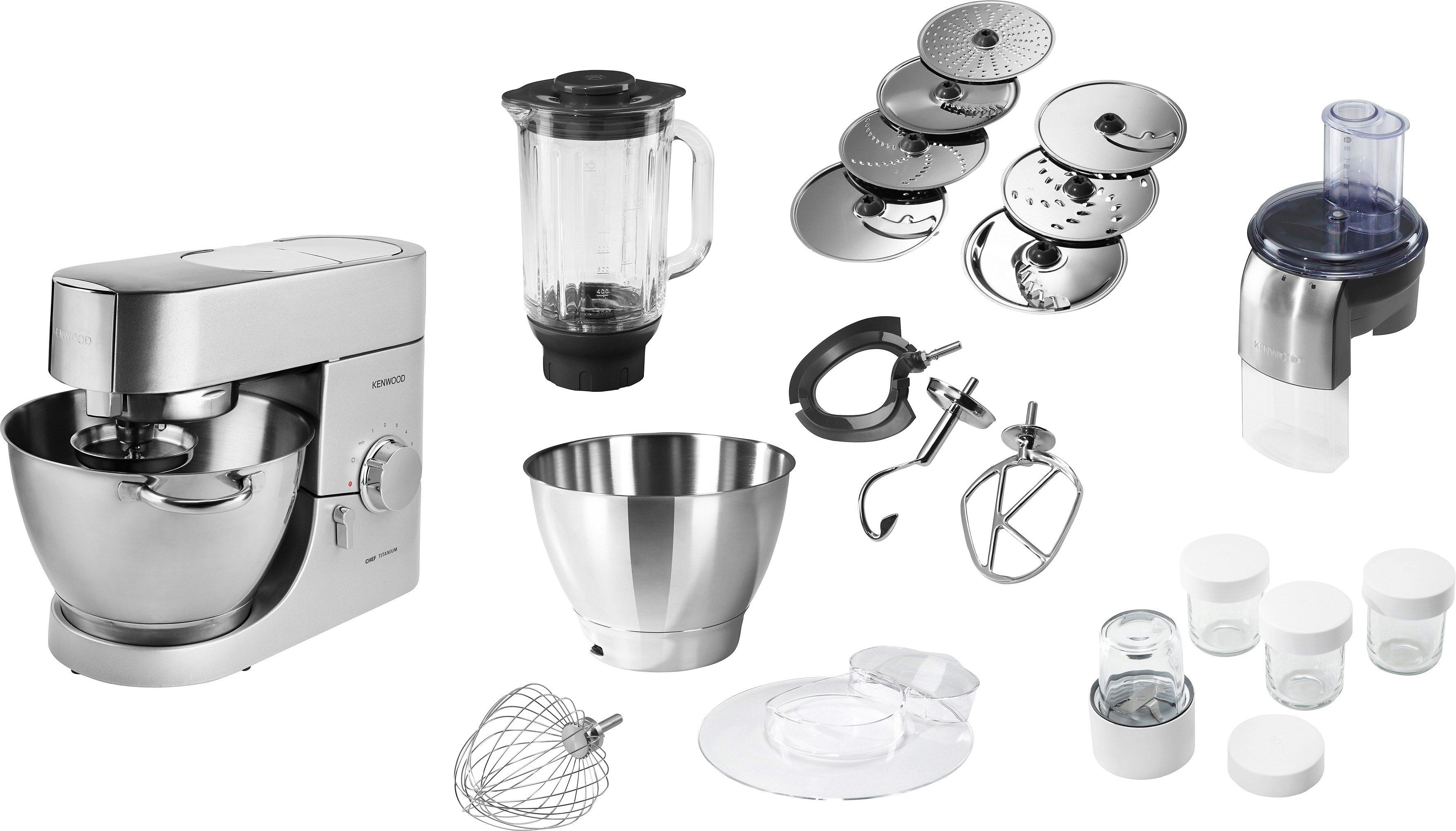 Kenwood Küchenmaschine »Chef KMC050«, 4,6 Liter, inkl. Sonderzubehör im Wert von 250,- €