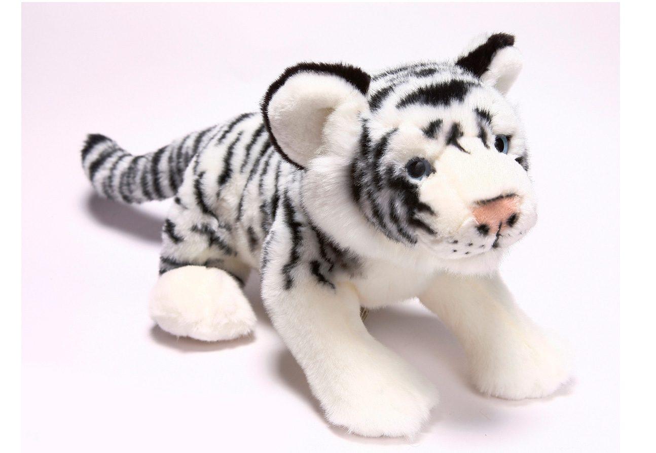 Plüschtier, »Sibirischer Tiger liegend, 36 cm, aus der Serie Blickfänger«, Heinrich Bauer
