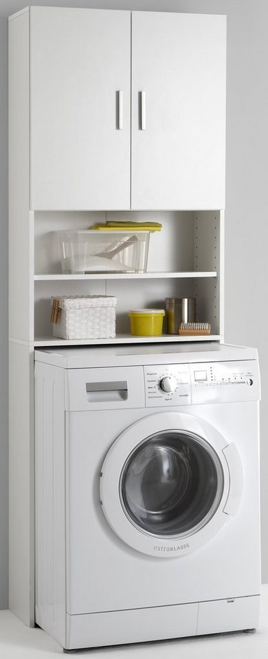 Waschmaschinenumbauschrank »Olbia« in weiß