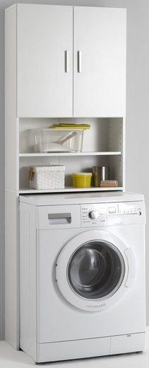 FMD Waschmaschinenumbauschrank »Olbia« mit 2 offenen Fächern