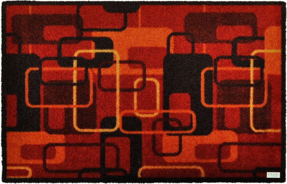 Schmutzfangmatte, Zala Living, »Retro« in rot
