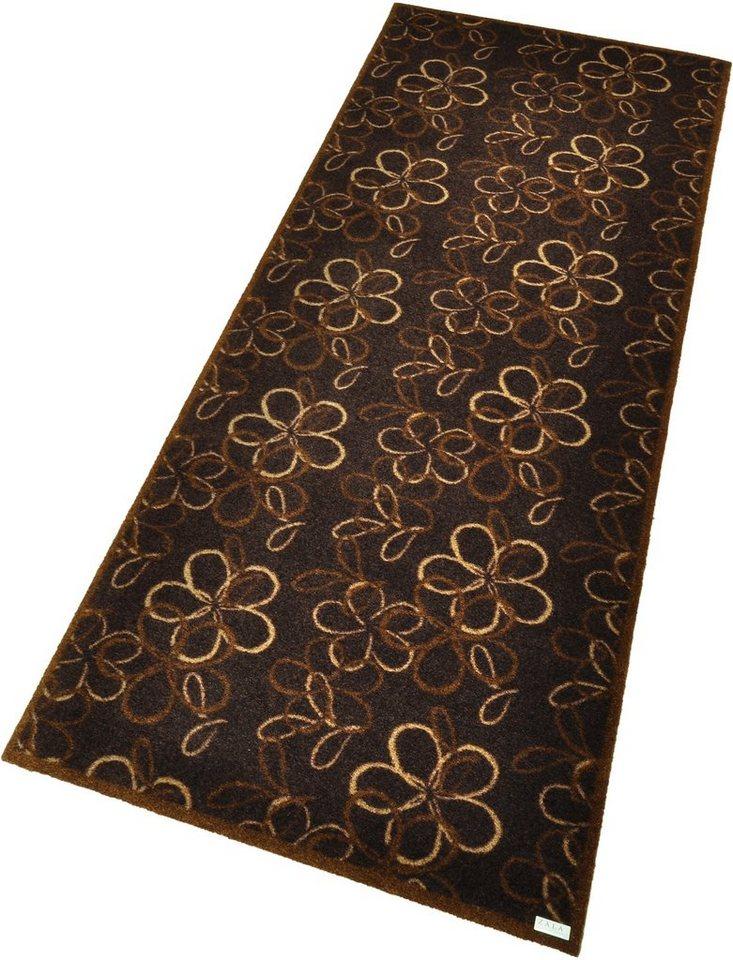 Teppich, Zala Living, »Flower« in braun