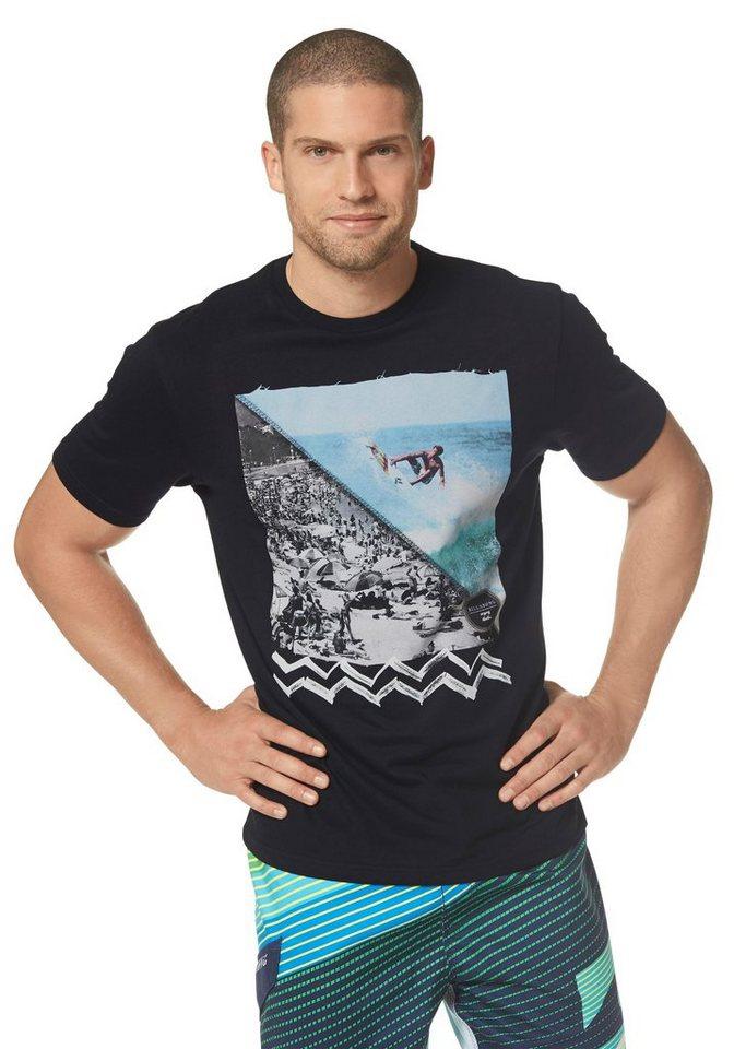 Billabong FREE SUMMER TEE T-Shirt in Schwarz