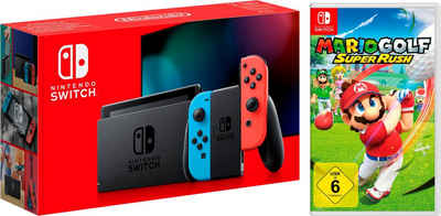 Nintendo Switch, inkl. Mario Golf: Super Rush