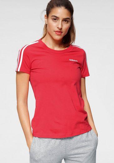 adidas Performance T-Shirt »ESSENTIALS 3 STRIPES SLIM TEE«