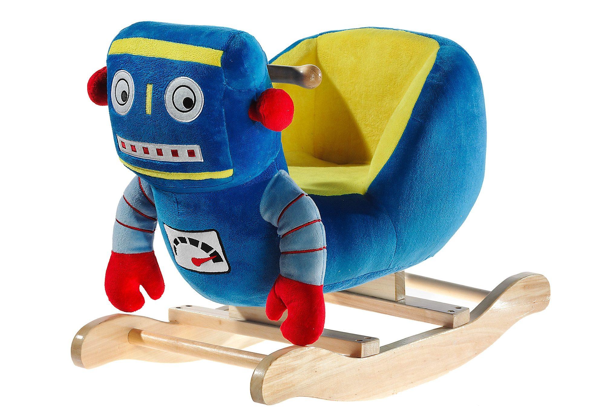 Heunec Schaukeltier mit Sound »Roboter«