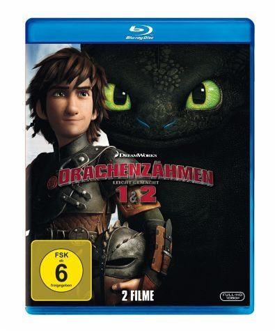 Blu-ray »Drachenzähmen leicht gemacht 1 & 2 (2 Discs)«