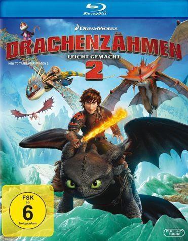 Blu-ray »Drachenzähmen leicht gemacht 2«