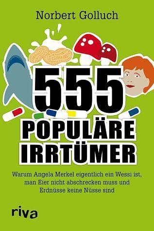 Broschiertes Buch »555 populäre Irrtümer«