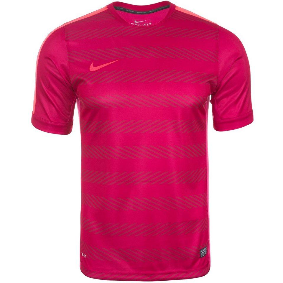 NIKE Squad Premium Fußballtrikot Herren in pink / rosa