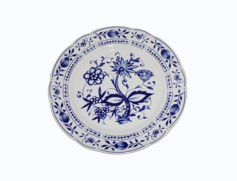 Kahla Speiseteller »Zwiebelmuster« in Weiß, Blau