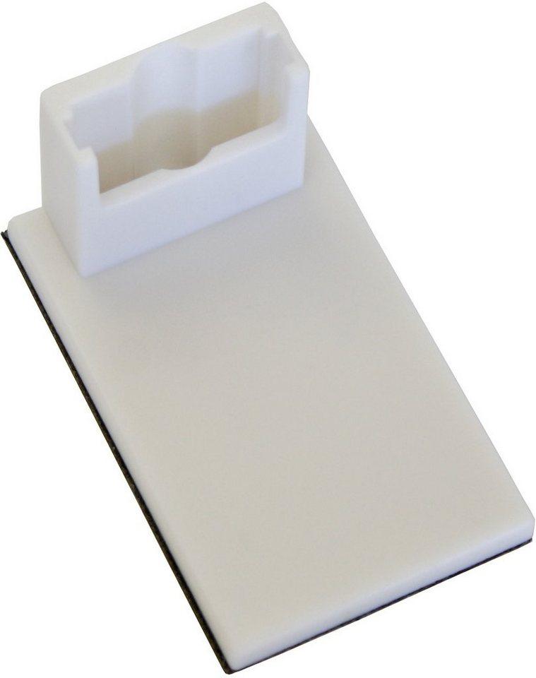 Klebeträger für Easyfix Plissee und Easyfix Jalousie, Gardinia (4 Stück) in weiß