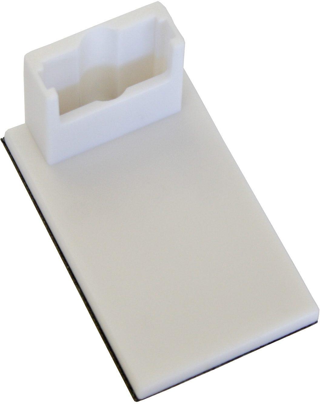 GARDINIA Klebeträger für Easyfix Plissee und Easyfix Jalousie (4 Stück)