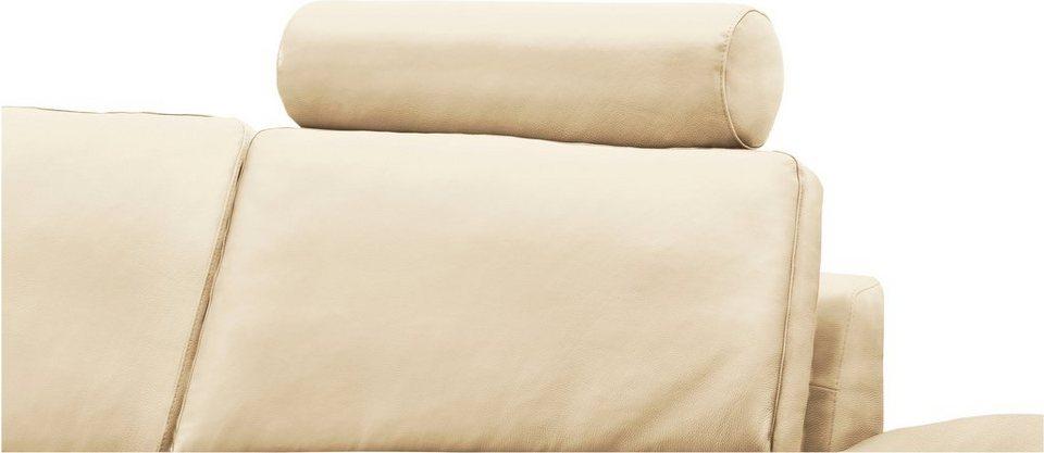 machalke® Kopfstütze rund »concept101-M«, Kopfteil beweglich in offwhite