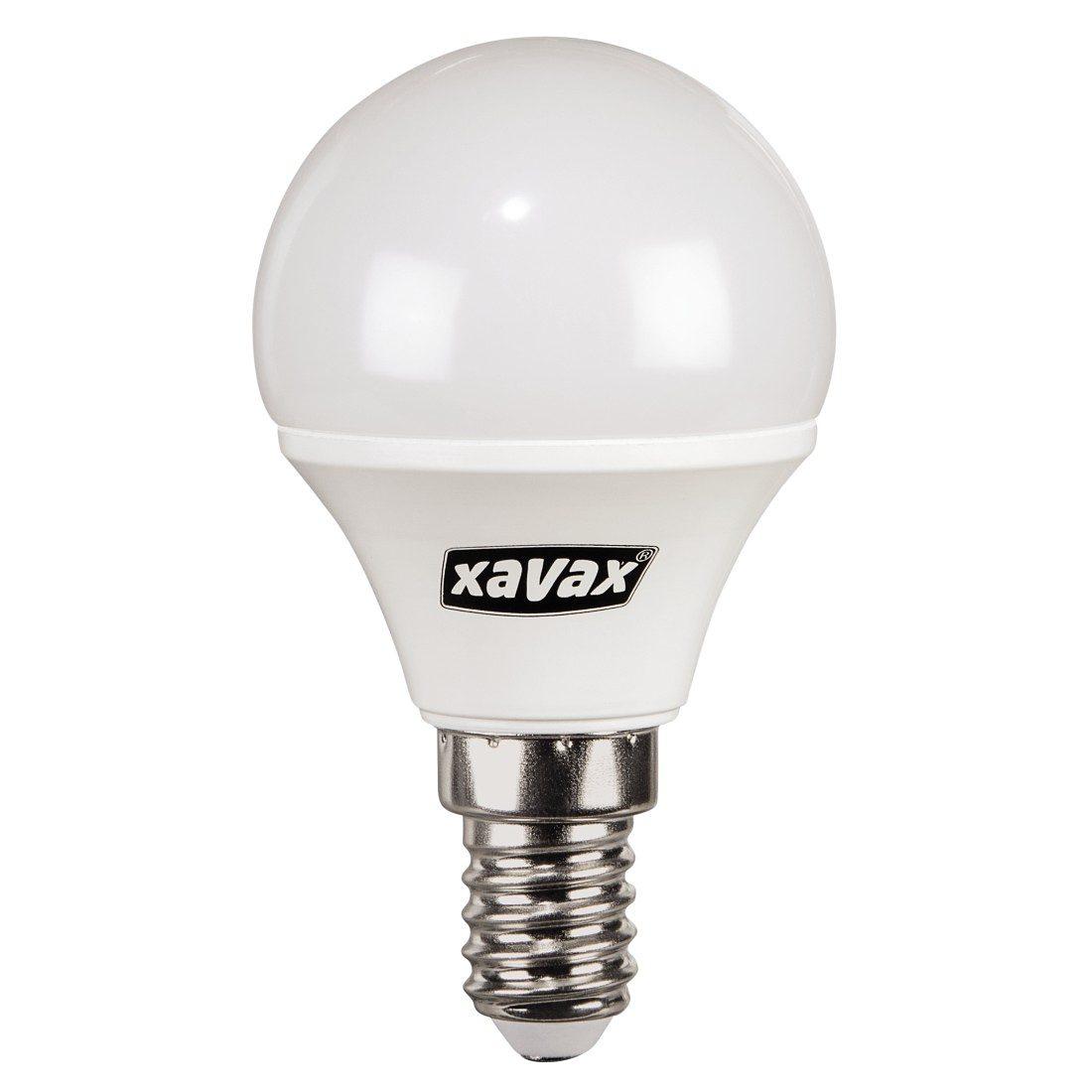 Xavax LED-Lampe, 4W, Tropfenform, E14, Warmweiß