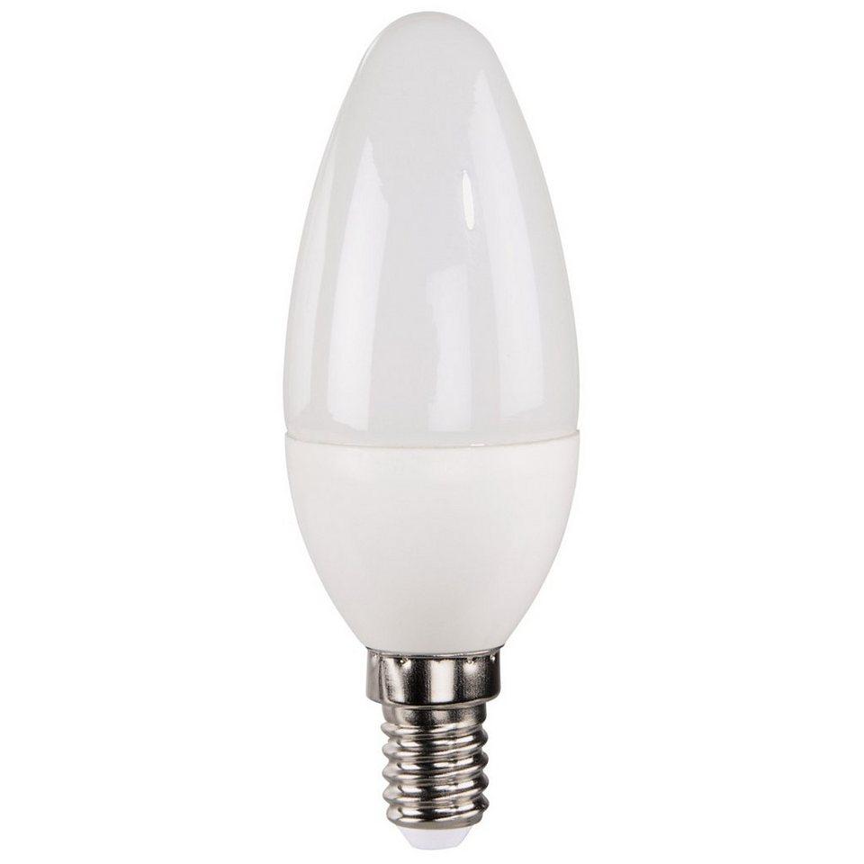 Xavax LED-Lampe, 4W, Kerzenform, E14, Warmweiß in Weiss