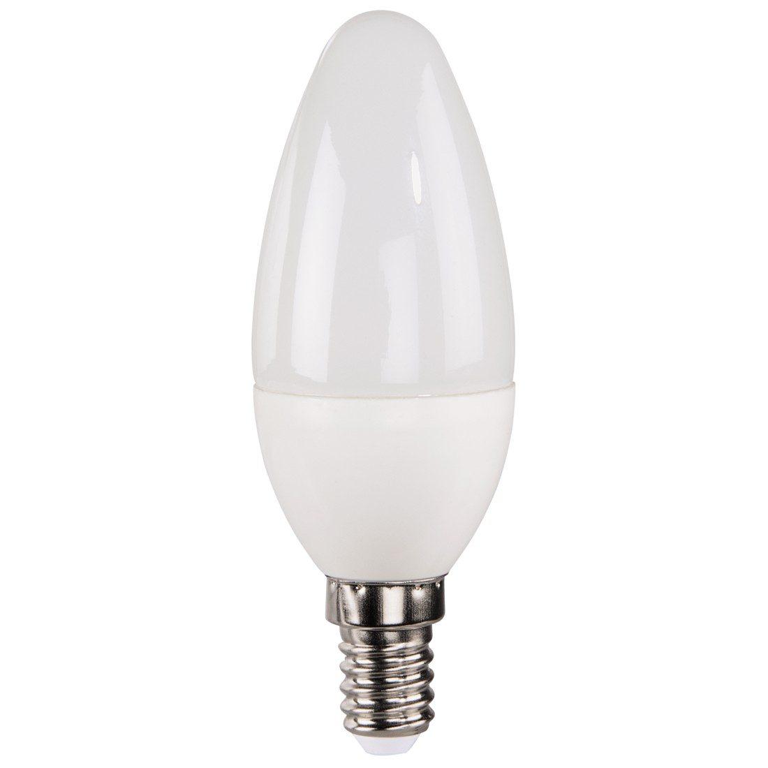 Xavax LED-Lampe, 3W, Kerzenform, E14, Warmweiß
