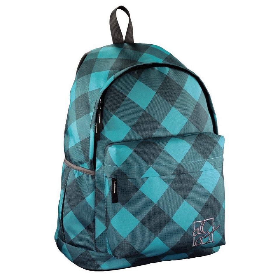 All Out Rucksack Luton, Blue Dream Check