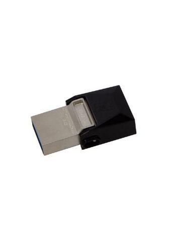 KINGSTON USB laikmena »64GB Data Traveler Micro...