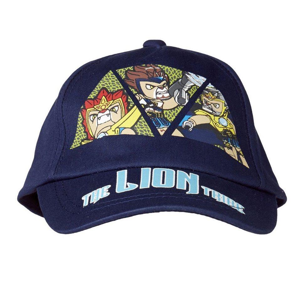 """LEGO Wear Legends of Chima Basecap Carlos Kappe Baseball Mütze """"Lion"""" in blau"""