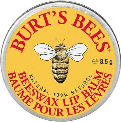 Burt's Bees, »Beeswax Lip Balm Tin«, Lippenbalsam in Dose, 8,5 g