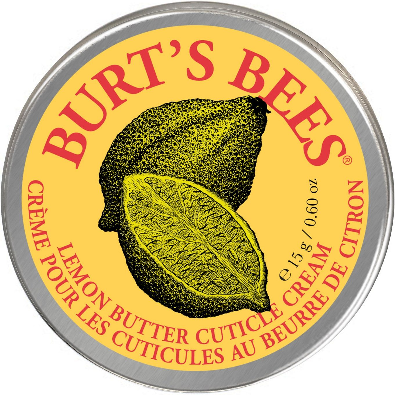 Burt's Bees, »Lemon Butter Cuticle Cream«, Nagelhautcreme, 15g